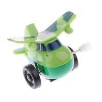 Wind up Aircraft Plane Airplane Clockwork Fighter Helicopter Toy Collectible