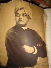 INDIA RARE - VIVEKANANDA A BIOGRAPHY IN PICTURES - 1973 - ADVAITA ASHRAMA - P119