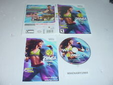 ZUMBA FITNESS 2 game complete case w/ manual for Nintendo Wii system