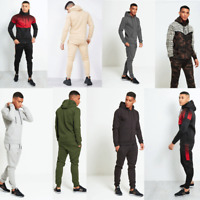 JUSTYOUROUTFIT Mens & BOY RIBBED/MULTI ZIP/PADING PULLOVER SKINNY FIT TRACKSUIT