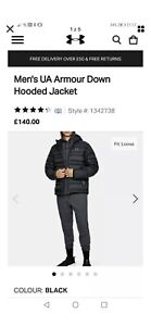 under armour X Storm Down Hooded Jacket