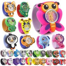 Fashion Animal Zoo Slap Watches Silicone Wrist Watch Boys Girls Children Kids