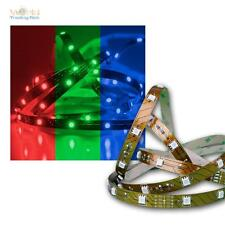 8,48€/m 5m RGB LED Tira 24V Superbright 150 SMD LEDs Banda de luz Rayas flexible