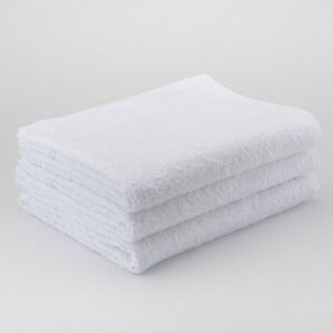 72 x White Hairdressing Towels Salon Beauty Barber Towels Gym Spa 50x100cm