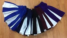 Cheerleading Skirts - Multiple Colors  -Youth and Adult Sizes- Halloween Costume
