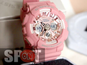 Casio G-Shock Pastel Hues Pale Tone Ladies Watch GMA-S120DP-4A