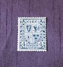 Mint Irish (Éire) Collectors Stamp (1922) 4p COAT OF ARMS. Scott #71