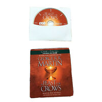A Feast of Crows George R R Martin Game of Thrones Audiobook 27 CD Set Fire Ice
