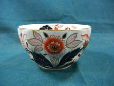 Booths Dovedale A8044 Rust and Blue Imari Open Rice / Sugar Bowl
