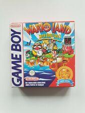 SUPER MARIO LAND 3 WARIOLAND Nintendo Gameboy Game boy Boxed boite DMG-WJ-FAH