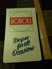 BOBOLI Pizza Crust (Kraft) Recipes For All Occasions [Ring Binder] COOKBOOK Ltd