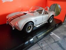 AC SHELBY COBRA FORD v8 427 S/C GRIGIO ARGENTO Muscle prezzo speciale Yatming 1:18