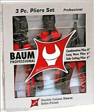 Pliers Set (set of 3pcs.) BAUM