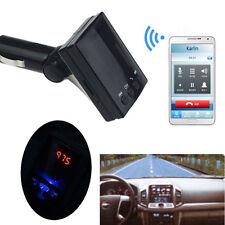 Wireless LCD Bluetooth FM Transmitter USB Charger Modulator Car Kit MP3 Player