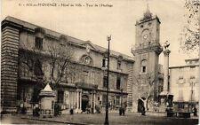 CPA AIX-en-PROVENCE - Hotel de Ville - Tour de l'Horloge (213665)