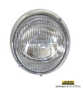 JORG Euro Headlight Assembly, Porsche 911/912 (65-67), 901.631.101.00