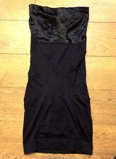 Spanx Slimmer & Shine Strapless Full Slip Shaper Black Sz XL NWOT