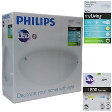 Philips My Living Frosted 22W Glare Free Led Ceiling Light `Ballan` 15000 Life