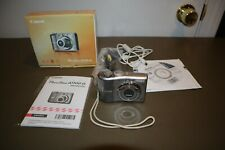 Canon PowerShot A1100 IS Digital Camera 12.1MP 4X Optical Zoom w/Box, And Cords