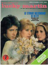 fotoromanzo LE AVVENTURE DI LUCKY MARTIN ANNO 1975 NUMERO 79 KATIUSCIA ROC DANI