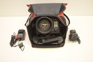 MarCum LX-5 Fishing Flasher Depth Fish Finder w/Battery, Case & Charger - TESTED