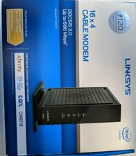 ✅ Linksys DOCSIS 3 16x4 Cable Modem (CM3016) Xfinity Spectrum +⭐