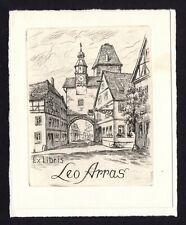 39)Nr.071-EXLIBRIS- Fritz Bötel, C3- Radierung