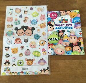 2016 Disney Tsum Tsum Super-Cute Activities Book Stickers Parragon Books NEW