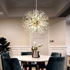 Dandelion Shape Crystal Chandeliers Pendant Lights K9 Crystal Sputnik Chandelier