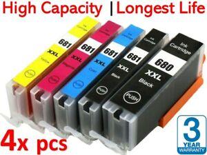 5 Ink for Canon 680/681XXL PIXMA TR-7560 TR-8560 TS-6100 TS-6160 TS-6260 TS-6360