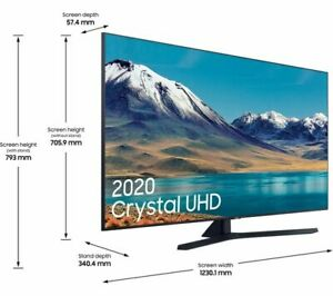 "SAMSUNG UE55TU8500UXXU 55""Inch 2020 UHD 4K HDR Smart TV Wi-Fi *BRAND NEW SEALED*"