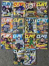 Lot of 14 CLiNT Magazines ~ Mark Millar, Simon Pegg, Frankie Boyle, Tarantino
