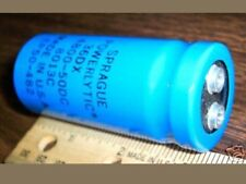 QTY-10 SPRAGUE CAPACITOR 4800 uf 50 VOLTS EP50-482 POWERLYTIC 36DX 4800-50DC