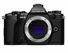 Olympus OM-D E-M5 Mark II 16.1MP Digital SLR Camera - Black (Open Box)