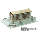 3D puzzle DIY toy building model Greece The Parthenon Temple architecture gift