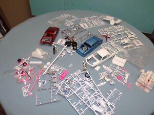 Revell 1/25 Pro Street Model Car Junk Yard Lot