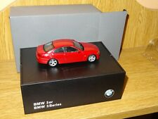 AUTOART. BMW 3er SERIES. Sc. 1:43. MINT IN ORIGINAL BOX. DEALERSHIP MODEL