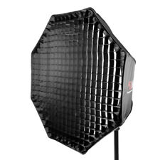 Octagonal Easy-open Umbrella Softbox with Honeycomb Grid Portable 120cm