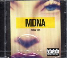 MADONNA - MDNA WORLD TOUR - 2 CD (NUOVO SIGILLATO)