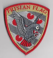 Royal Netherlands Air Force  -  322 Squadron  Frisian Flag 2018 patch  -  F-16