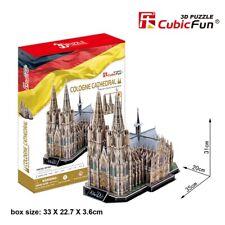 CubicFun 3D Puzzle MC160H Cologne Cathedral,Building Jigsaws,DIY Toys,179 Pieces