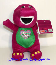 "Barney Plush Singing "" I Love You"" Song 10 Inches"