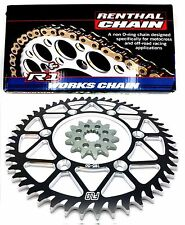 Yamaha YZ250 YZ450F Renthal Chain and Sprocket Combo 48/14T Flo Motorsports..
