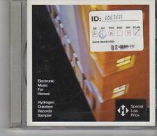 (FX660) The Sampler, Electronic Music For Heroes - 2001 CD