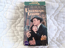 UNCERTAIN GLORY VHS ERROL FLYNN RAOUL WALSH PAUL LUKAS FRANCE WW2 WAR WWII NAZIS
