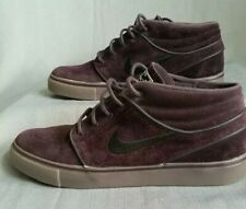 Nike SB Zoom Air Stefan Janoski Mid Purple Port Wine Colorway 443095-609 Suede 8