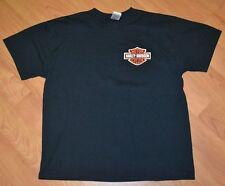 Harley Davidson Motorcycles Town & Country Cement City MI Biker T Shirt XL Nice