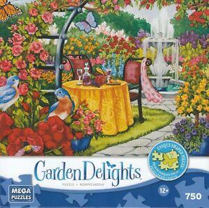 Garden Delights - Romantic Rose Garden 750 Piece Puzzle