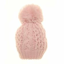 Babies Double Lined Bobble Hat (Various Colours Available)