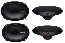 "4) New Rockford Fosgate R169X2 6x9"" 260W 2 Way Car Coaxial Speakers Audio Stereo"